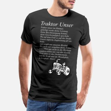 Our Block Tractor Our tractor - Men's Premium T-Shirt