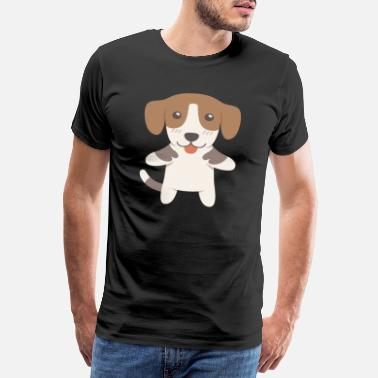 Dog Lover Hamiltonstövare Gift Idea - Men's Premium T-Shirt