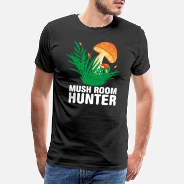 Champignon Mushroom Hunter Mushroom Collector - Paddenstoelenjager - Mannen premium T-shirt