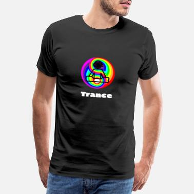 Rave Wear Trance Music - Männer Premium T-Shirt