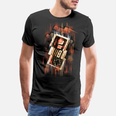 Geek Blurry NES - Men's Premium T-Shirt