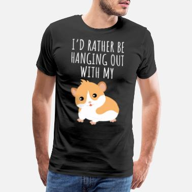 Kawaii Cute Guinea Pig Gift Idea for Guinea Pig lovers - Men's Premium T-Shirt