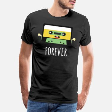 Cinta Together Forever Cassette Pen Valentines Day Gift - Camiseta premium hombre