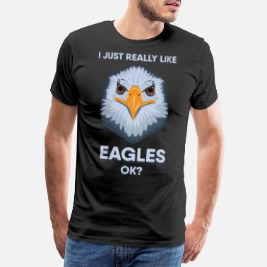 Stars And Stripes Just LIke American Bald Eagle USA Gift Idea - Men's Premium T-Shirt