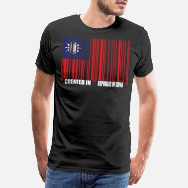 Mandarin PROUD TO BE FROM REPUBLIC OF CHINA - Männer Premium T-Shirt