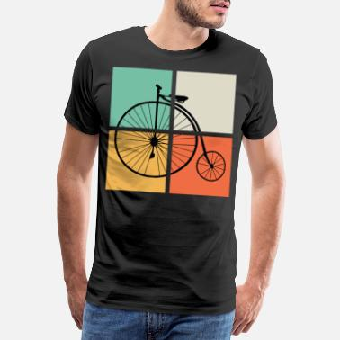 Tacos Altos RETRO HIGH WHEELER - Camiseta premium hombre