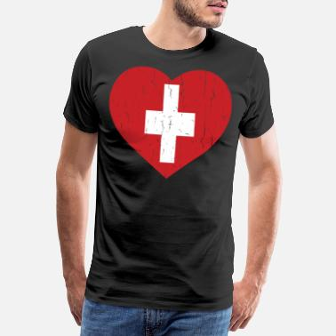Capital SWITZERLAND - Men's Premium T-Shirt