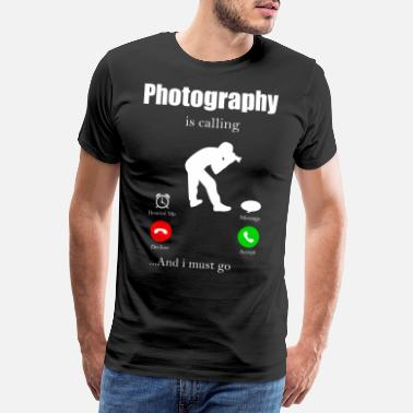 Montage Photo Caméra photo Reflex Objective Photo Camera - T-shirt premium Homme