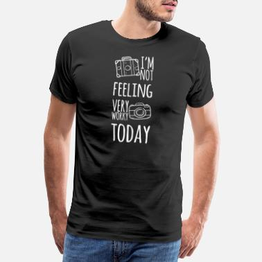 Spain Vacation: I'm not feeling very worky today - Men's Premium T-Shirt