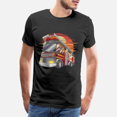 Firefighter Firetruck Firefighting Firefighter Firefighter - Camiseta premium hombre
