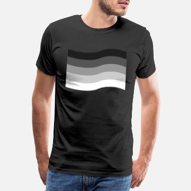 Marriage Equality Heterosexual LGBT Pride Equality Flag Gift - Men's Premium T-Shirt