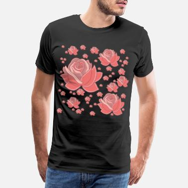 Ecologically Rain of roses - Men's Premium T-Shirt