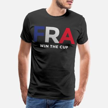 Fanmeile France win the Cup - Männer Premium T-Shirt