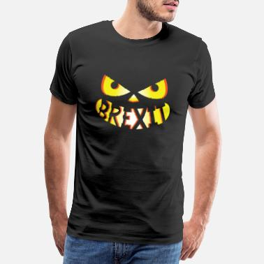 The British Empire Brexit Halloween Mask - Men's Premium T-Shirt