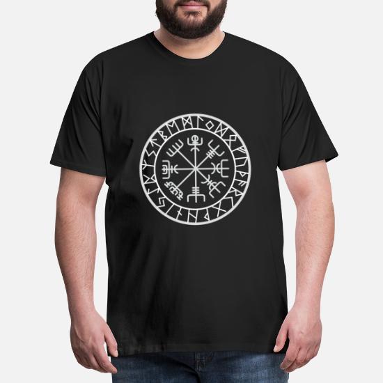 T-shirt da Uomo Odin anziché Gesù-guerriero dimensioni fino a 5xl