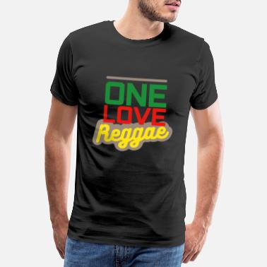Jam One Love Reggae Gift - Men's Premium T-Shirt