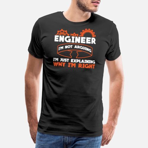 Ingenieur Maschinenbau Technik Geschenk Manner Premium T Shirt