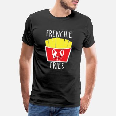 Bullies Frenchie fries - Men's Premium T-Shirt