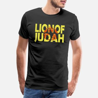Bible Bible Verse Lion of Judah - Men's Premium T-Shirt