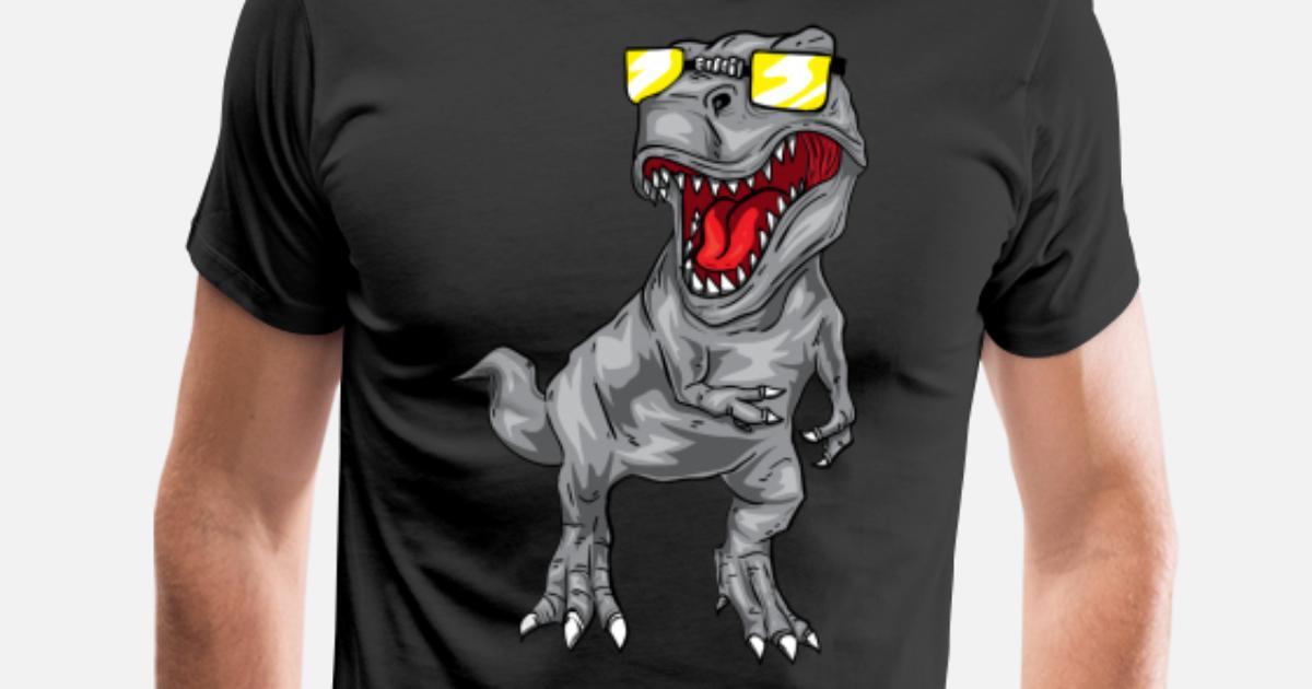 ab00b61c Cool Tyrannosaurus Rex - Dinosaur T-Rex Men's Premium T-Shirt ...