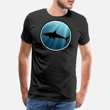 Great White Shark Great White Shark Great White Shark - Men's Premium T-Shirt
