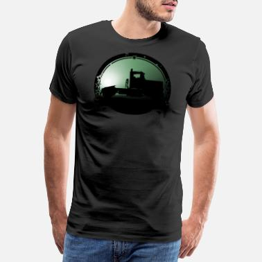 Tough Guy Truck Tracker truck Brummi vintage car driver - Men's Premium T-Shirt