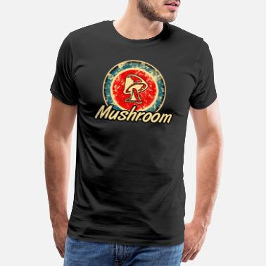 Magic Mushrooms Mushroom Mushrooms Magic Mushrooms - Men's Premium T-Shirt