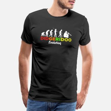 Pipe Didgeridoo Evolution Gift - Men's Premium T-Shirt