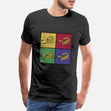 Pop Art Pop Art Scorpion - Men's Premium T-Shirt