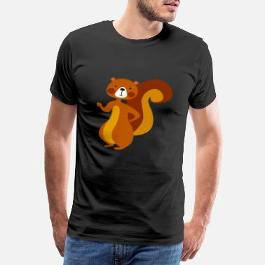 Beggar Bad squirrel - Men's Premium T-Shirt