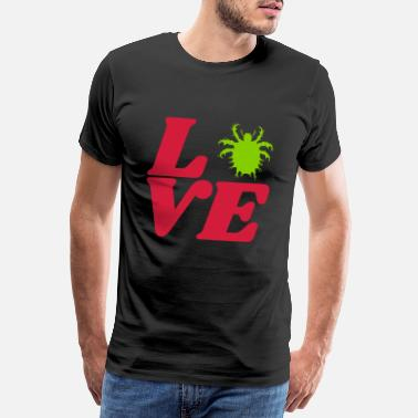 Vermin love insects forest crawling vermin - Men's Premium T-Shirt