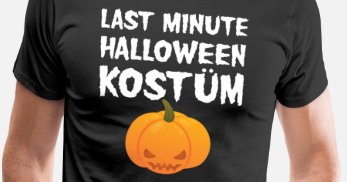 Last Minute Halloween Kostüm Männer Premium T-Shirt