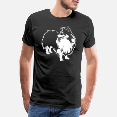 Nett Sheltie Black Edition - Männer Premium T-Shirt