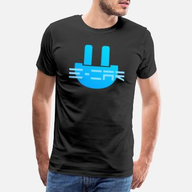 Sustainable Development e-car with plug! Idea, Cool, Gift - Men's Premium T-Shirt