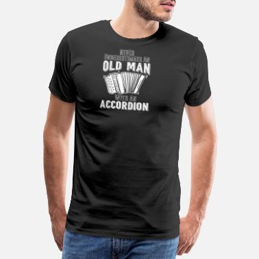 Accordion Accordion Concertina Melodeon Piano Accordion Gift - Men's Premium T-Shirt