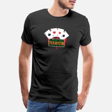 Bluff All time poker mester - Premium T-shirt mænd