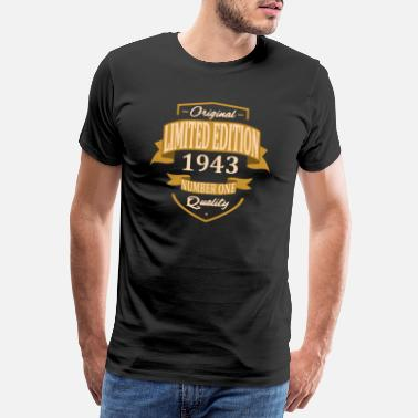 1943 Limited Edition 1943 - Mannen premium T-shirt