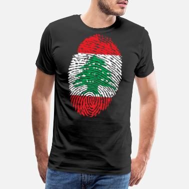 Beirut LIBANON 4 EVER COLLECTION - Premium-T-shirt herr