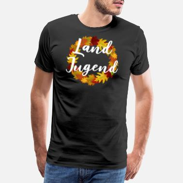 Rural Rural Youth Wreath - Men's Premium T-Shirt