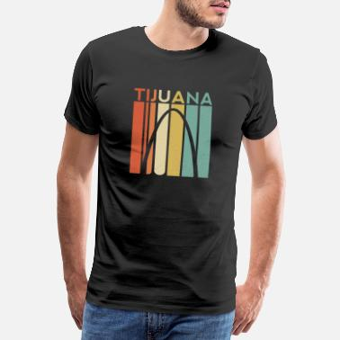 Mexico Tijuana Retro Vintage Great Again Mexico Mexican - T-shirt premium Homme