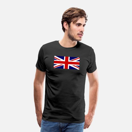 Union Jack T-Shirts - Union Jack - Men's Premium T-Shirt black