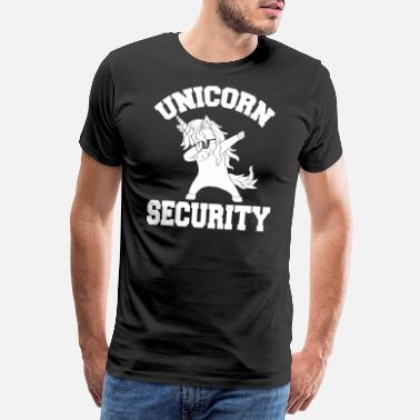 Like Unicorn Security Shirt Magical Costume Tee Cute Gu - Men's Premium T-Shirt