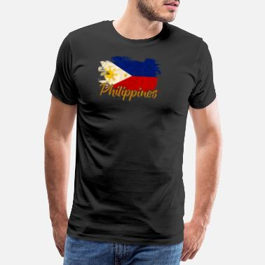 Malaysia Flag Philippines - Men's Premium T-Shirt