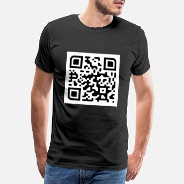 Scanner Sike you thought QR code - Men's Premium T-Shirt
