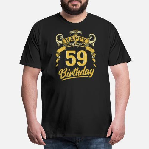 59 Anni Buon Compleanno Bday Regalo Di Compleanno Maglietta Premium