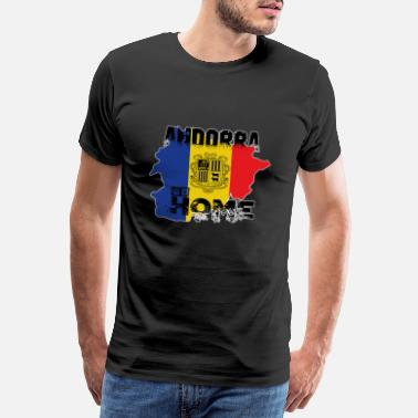 ANDORRA my HOME - Men's Premium T-Shirt