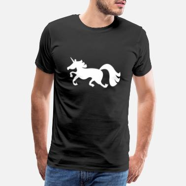 Wear Jumping Unicorn - Men's Premium T-Shirt