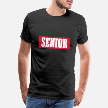 Sénior SENIOR - SIMPLE - T-shirt premium Homme