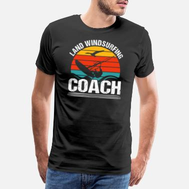 Windsurfing Country windsurfing coach - Men's Premium T-Shirt