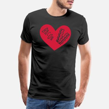 Schinken Bacon Lovers - Männer Premium T-Shirt
